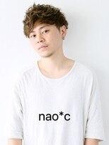 【奈良/富雄nao*c】☆ツーブロックカットに毛先が遊ぶパーマを