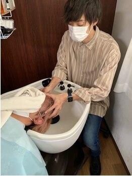 ルショージ(Le,shoji)の写真/【メンズ専門】ベタつき・ニオイなど気になるお悩みに!状態に合わせた本格ケアで健康的な頭皮へ導きます◎