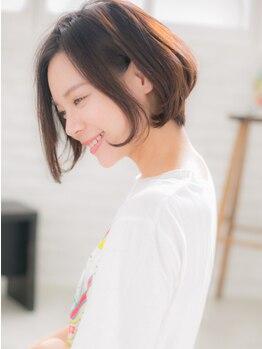 """カノン(canon)の写真/《下北沢駅30秒》諦めていた""""明るい白髪染め""""が叶う!しっかりとカバーしながらあなただけのデザインを♪"""
