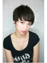 ヘアアンドメイク ハロ(hair&make halo)halo☆berry short rock♪