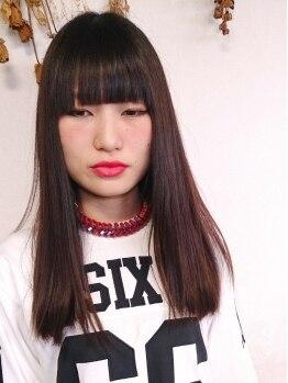 モグヘアー(mog hair)の写真/【宝殿駅チカ】センス×高い技術のオシャレ☆スタイリストが醸し出す《HAPPY MODE》でキレイにrefresh♪