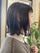 コレットヘア(Colette hair)◎bob×ダークネイビーアッシュ◎