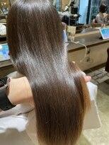 サロンドミルク 原宿(salon de MiLK)艶々髪質改善トリートメント ナチュラルカラー
