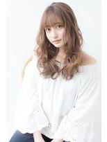 アフロートジャパン(AFLOAT JAPAN)AFLOAT明日香の 大人かわいい グレージュグラマラス ルーズ