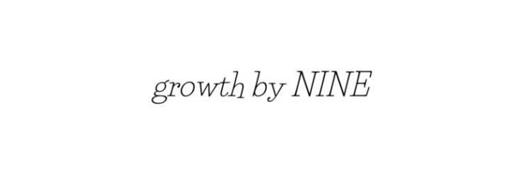 グロウス バイ ナイン(growth by NINE)のサロンヘッダー