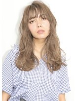 ヘアサロン ガリカ 表参道(hair salon Gallica)☆ 外国人風ミルクティーグレージュ × 重かるwave ☆