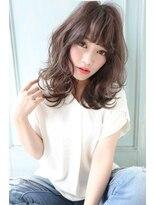シーンエスト(sCene EST)☆sCeneクール大人可愛い☆さらふわセミディ☆