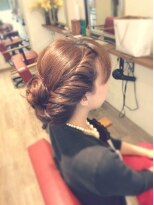 ヘア デザイン スタイリー(Hair Design stylee)話題のアニメ映画のヘアセット