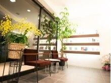 サロンドボーテ ウイ 八潮店(Salon de beaute Oui)の雰囲気(明るく広々とした店内でゆっくりとお過ごし下さい。)