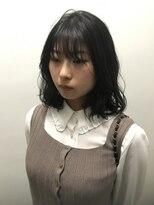 コレット ヘアー 大通(Colette hair)黒髪オルチャンヘア