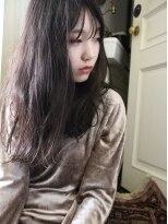 黒髪ロング
