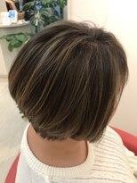 ヘアーリゾートラシックアールプラス(hair resort lachiq R+)《R+》白髪染め使わない大人の艶グレイカラー