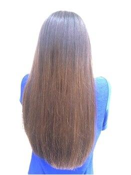 サロン ド デュラス(Salon de Duras)の写真/上質な艶&潤い♪縮毛矯正&カット&トリートメント ¥12420→¥8532が大人気です!