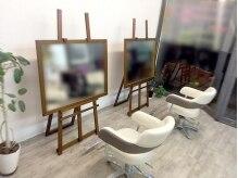 ヘアスタジオ アール(Hair Studio R)の雰囲気(白をベースとした、広すぎず狭すぎない心地よい空間★)