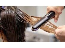 ヘアーメイク オズ(HAIR MAKE Oz)の雰囲気(超音波トリートメントで髪の毛の内部まで栄養を浸透させます☆)