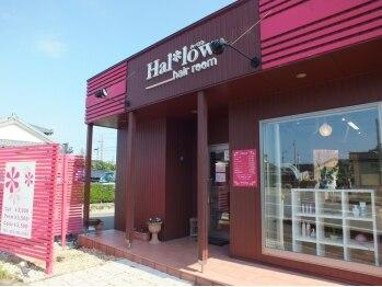 ハーロウ ヘアールーム(Hallow hair room)の写真/【北区豊栄ウオロク葛塚店近く】女性スタッフ2席のみのプライベートサロン☆癒されながら可愛くなれる…♪