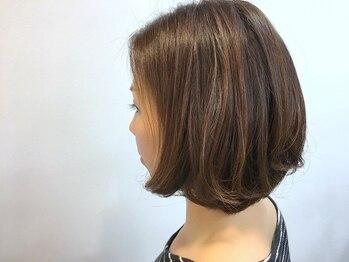 ヘアーウィッシュ 名谷店(HAIR WISH)の写真/乾かすだけで簡単にまとまる、大人のショートスタイルで毎日キレイなあなたを演出!イメージチェンジにも◎