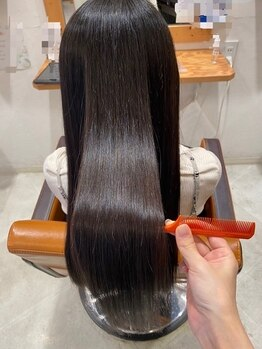 テーラヘアー 五井(TELA HAIR)の写真/ダメージレベルに合わせて施術するオリジナルトリートメント。憧れのうるツヤ髪を手に入れて♪【五井】