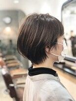 エトネ ヘアーサロン 仙台駅前(eTONe hair salon)20代30代40代オススメ柔らかひしがたショートボブ