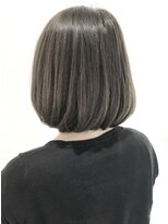 フレイムスヘアデザイン(FRAMES hair design)大人ボブ×グレージュカラー×コスメストレート