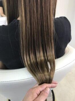 リラシー ヘアーアンドビューティー 龍ケ崎店(RELASY hair&beauty)の写真/【生オイルトリートメント¥5400】髪の内側、外側に4Stepで徹底アプローチ☆心地よい質感と艶のある美髪に…