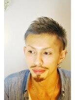 【miel hair bijoux】スパイキーショート見せツーブロック!!