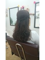 ヘアサロン シュシュ(Hair salon Chou chou)ウェーブ
