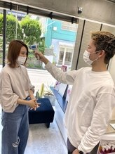 ー 新型コロナウイルス(COVID-19)、感染拡大防止の為の当サロンでの取組みの概要 ー