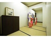 ヒューラ 三鷹店(hurra)の雰囲気(着付け室完備!成人式・七五三・成人式など承っております。)