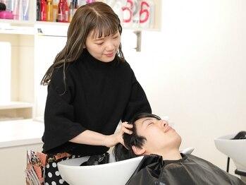 メンズ ピノ(Men's PINOT)の写真/【髪の悩みを徹底ケア】メンズの「身だしなみケア」は頭皮から★気持ちも髪もリフレッシュさせてくれる!