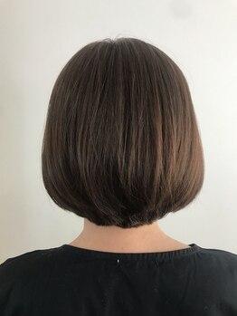 リーベ 秋津店(Liebe)の写真/明るい白髪染めもお任せ☆白髪をしっかり染めつつ、艶のある美しい上品な髪色へ導きます◎#イルミナカラー