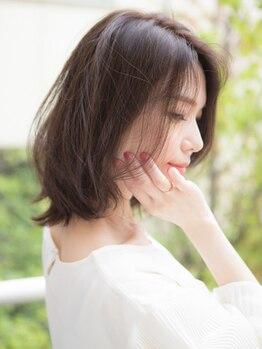 エーディーイー スガタ ヨーカドー静岡店(A.D.E sugata)の写真/【植物由来94%】美容業界最高値のオーガニックカラー!髪に頭皮に優しく、髪本来の美しい艶に導きます◎