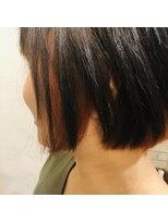 ヘアーエスクール 本店(hair S.COEUR)インナーオレンジカラー☆