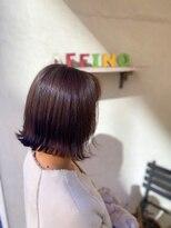 ヘアーメイク アフィーノ(hair make affino)ナチュラル外ハネStyle