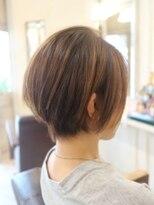 【30代・40代】耳掛けスッキリショートヘア