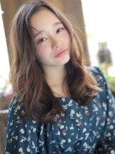 アグ ヘアー ルーブル 茨木店(Agu hair louvre)☆柔らかさ×エアリー☆ウェーブセミロング