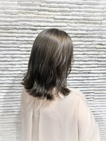 ビス リアン 川口店(Vis lien)グレージュ/オリーブ/くびれボブ/バレイヤージュ/トリートメント