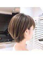 ルルカ ヘアサロン(LuLuca Hair Salon)LuLucaお客様☆スナップ 楽さ重視ショートボブ