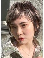 ギンザ ピークアブー 中央通り(GINZA PEEK A BOO)【New(8月)】くすみカラーがかわいいマッシュウルフ