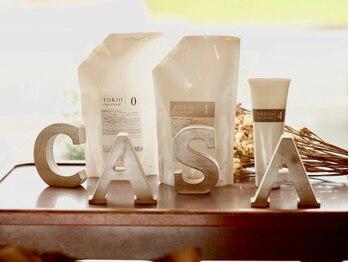 カーサ(Casa by JLB)の写真/『もう一度、髪にツヤ感と潤いを。』絶対オススメしたいCASAだけの特別トリートメントがデビュー♪