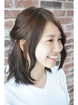 ヘアメイク オブジェ(hair make objet)簡単ヘアアレンジ