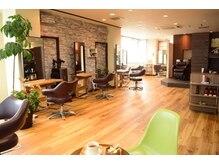 ヘアースタジオ アビィ(Hair Studio A Be)の雰囲気(内装はいたってシンプルですが「落ち着ける」とお客様に評判です)