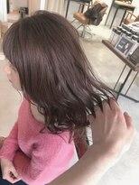 テラスヘア(TERRACE hair)人気オーダーピンクグレージュ