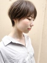 ラウンジ モリオ イケブクロ(Lounge MORIO Ikebukuro)【morio池袋】大人かわいい小顔丸みのある耳かけショート