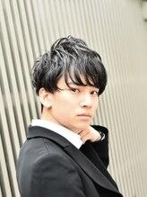 フリリ 新宿(Hulili men's hair salon)ビジネスカジュアルソフトパーマ/ツーブロックスタイル