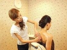 オハナ(Ohana hair&spa)の雰囲気(ドレスから露出するお肌をプロの技術で透明感のある極上の美肌へ)