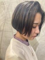 マハナ(Mahana by hair)♯前下がりボブ 担当TAKE
