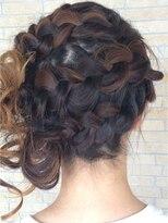 ヘアーアンドリラクゼーション ラシック(Hair&Relaxation LA.CHIC)大ぶり編み込み
