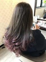 ヘアーアンドメイク アビディング(hair&make abiding)グラデーション
