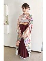 【Velis】卒業式の袴着付けとセット